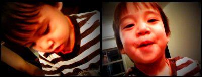 Beckham iPhone stripes May09